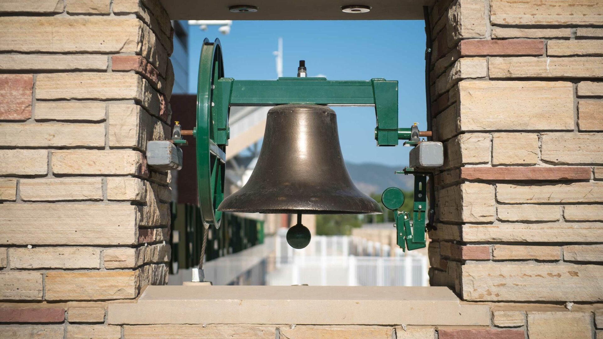 Old Main Bell close-up