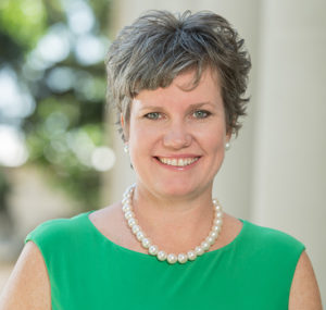 headshot of Kim Tobin, Vice President for University Advancement, Colorado State University