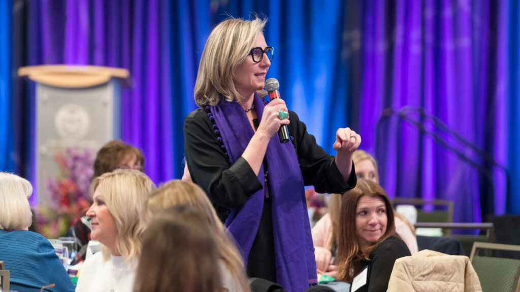 Speaker at Women and Philanthropy event