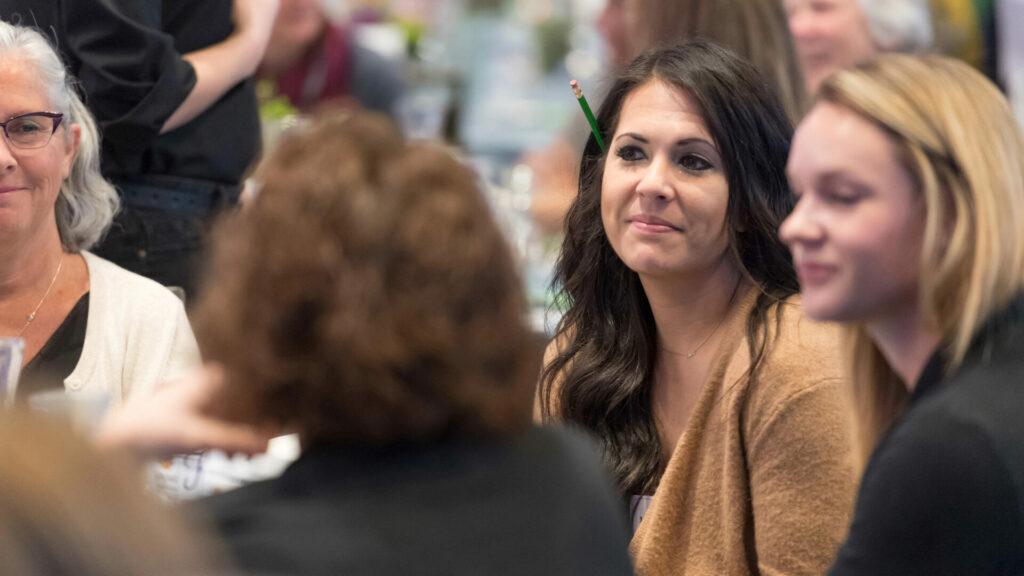 Women at CSU event